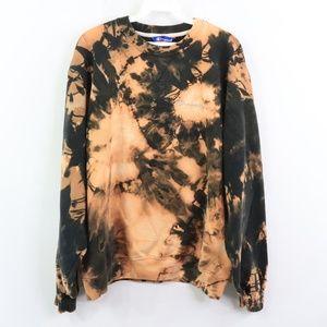 Vintage Champion Acid Wash Spell Out Sweatshirt M